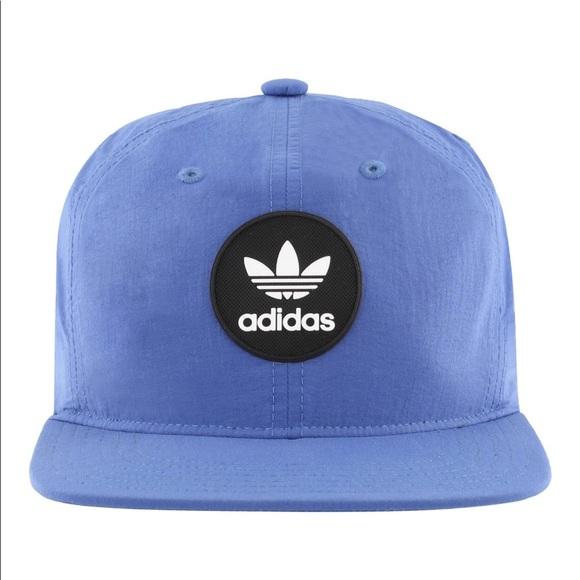 1ff82260087 Adidas Originals Mens Trefoil Decon Hat Core Blue